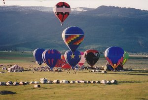 Balloon Festival , Teton Valley Fair , DRIGGS , Idaho , 1994 #3