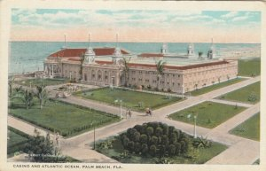 PINE BEACH, Florida, 1900-10s;Casino & Atlantic Ocean