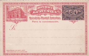 GUATEMALA , 1890s ; 3 Centavos