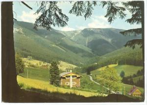 Czech Republic, KRKONOSE, Udolf Sv. Petra, 1971 used Postcard