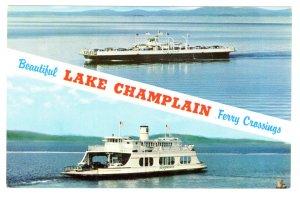 MV Valcour, MV Adirondack, Lake Champlain Passenger Ferry
