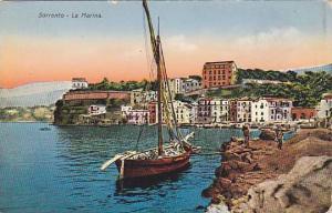 Fishing Boat, La Marina, Sorrento (Campania), Italy, 1900-1910s