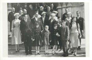 Royalty photo 1956 noces d`argent du Comte & comtesse de Paris Dreux France