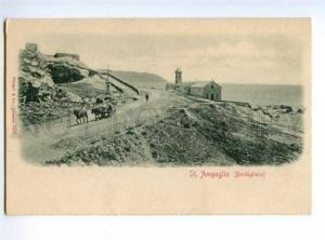 175014 Italy BORDIGHERA St.Ampeglio Church Vintage postcard