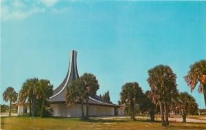 Holmes Beach Florida~Gloria Dei Lutheran Church~1950s Postcard