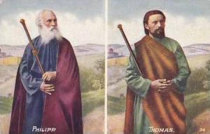 Religious Figure Phillip & Thomas