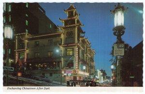 Enchanting Chinatown After Dark