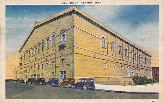 Tennessee Memphis The Auditorium