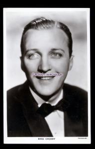 b6260 - Film Actor - Bing Crisby, Picturegoer Series. No.W.768 - postcard