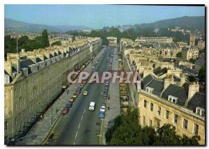 Postcard Modern Bath Great Pulteney Street and the Holburne Museum of Menstrie