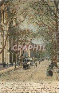 Postcard Old Nice Avenue Station