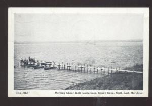 NORTH EAST MARYLAND SANDY COVE MORNING CHEER BIBLE CONFERENCE OLD POSTCARD