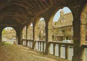 Gloucestershire Postcard - The Old Market Hall, Chipping Campden RR8412