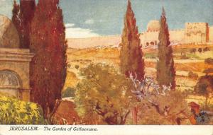Israel Jerusalem The Garden of Gethsemane Postcard