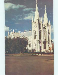 Pre-1980 CHURCH SCENE Medicine Hat Alberta AB A9196