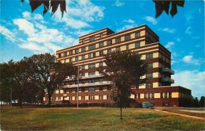 Columbia Missouri~State Cancer Hospital~1950s Postcard