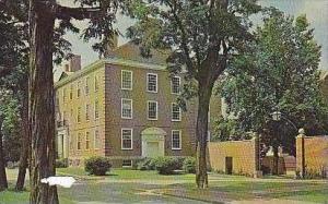 Indiana Crawfordsville Goodrich Hall Wabash College