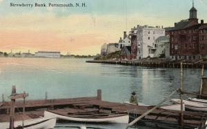 PORTSMOUTH , New Hampshire , PU-1914 ; Strawberry Bank