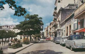 PUERTO RICO, 1940-1960's; Old San Francisco Street, Entrance To San Juan