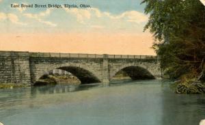 OH - Elyria. East Broad Street Bridge