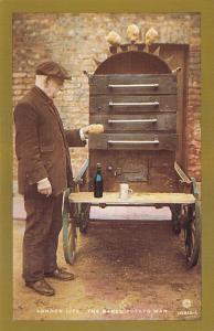 Nostalgia Postcard 1903 Edwardian Life, The Baked Potato Man, Repro Card NS13