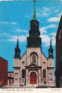 Canada Notre Dame De Bon Secours Church Montreal