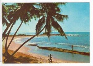 A Beach Scene, Sri Lanka (Ceylon), Asia, 1940-1960s