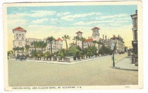 Cordova Hotel & Alcazar Hotel, St. Augustine, Florida, PU-1926