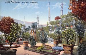 Vintage Italy Postcard, Lago Maggiore Isola Bella Giardino 39F