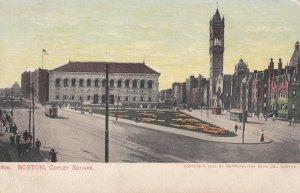 BOSTON, Massachusetts, 1901-1907; Copley Square