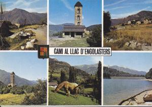 Postal 62057 : Valls d Andorra. Cami al Llac d Engolasters
