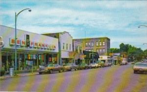 Michigan Iron River Genesee Street Downtown Shopping Area
