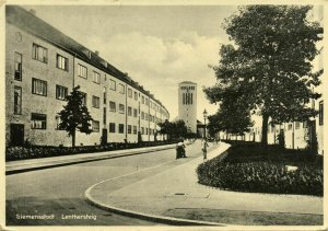 germany, BERLIN SIEMENSSTADT, Lenthersteig, Architect Hans Scharoun (1929-31)