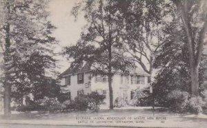Massachusetts Lexington Buckman Tavern Rendezvous Of Minute Men Before Battle...