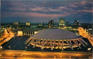 Norfolk Virginia~Convention And Cultural Center~Chrysler Hall~Night View~1950s
