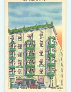 Unused Linen SENECA HOTEL Geneva New York NY u8527