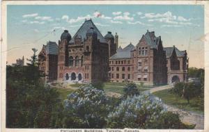 Exterior, Parliament Buildings,Toronto,Ontario,Canada,PU-00-10s