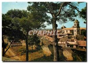 Modern Postcard Beaucaire Gard General view taken of the Chateau heights