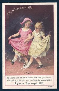 VICTORIAN TRADE CARD Ayer's Sarsaparilla