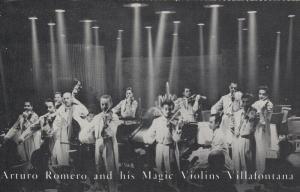 LAS VEGAS , Nevada , 40-60s ; DUNES hotel , Arturo Romero & Magic Violins