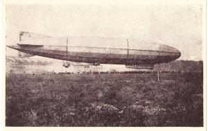 Zeppelin, NEW REPRODUCTION, unused Postcard