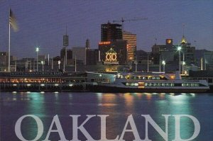 Beautiful Oakland With Jack London Square Stands Spectacularly In The Early M...