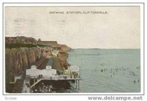 bathing Station, Cliftonville, Uk, PU 1928