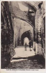 RP, Via Dolorosa (The Way Of Martyrdom), Jerusalem, Palestine, 1920-1940s