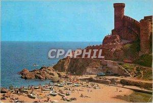 Postcard Modern Tossa de Mar Costa Brava