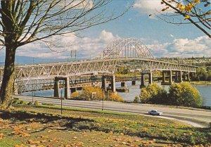 Canada Pattullo Bridge New Westminster British Columbia