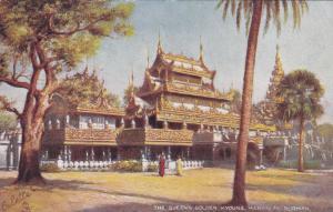 BURMA , 00-10s ; TUCK , The Golden Kyoung, Mandalay ; Version-2