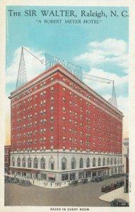 RALEIGH, North Carolina, 1900-10s; The Sir Walter
