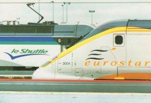 Le Shuttle Eurostar Eurotunnel Inauguration Day 1994 Postcard