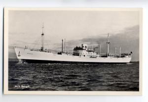 cb0834 - Swedish East Asia Line Cargo Ship - Bengal , built 1944 - postcard